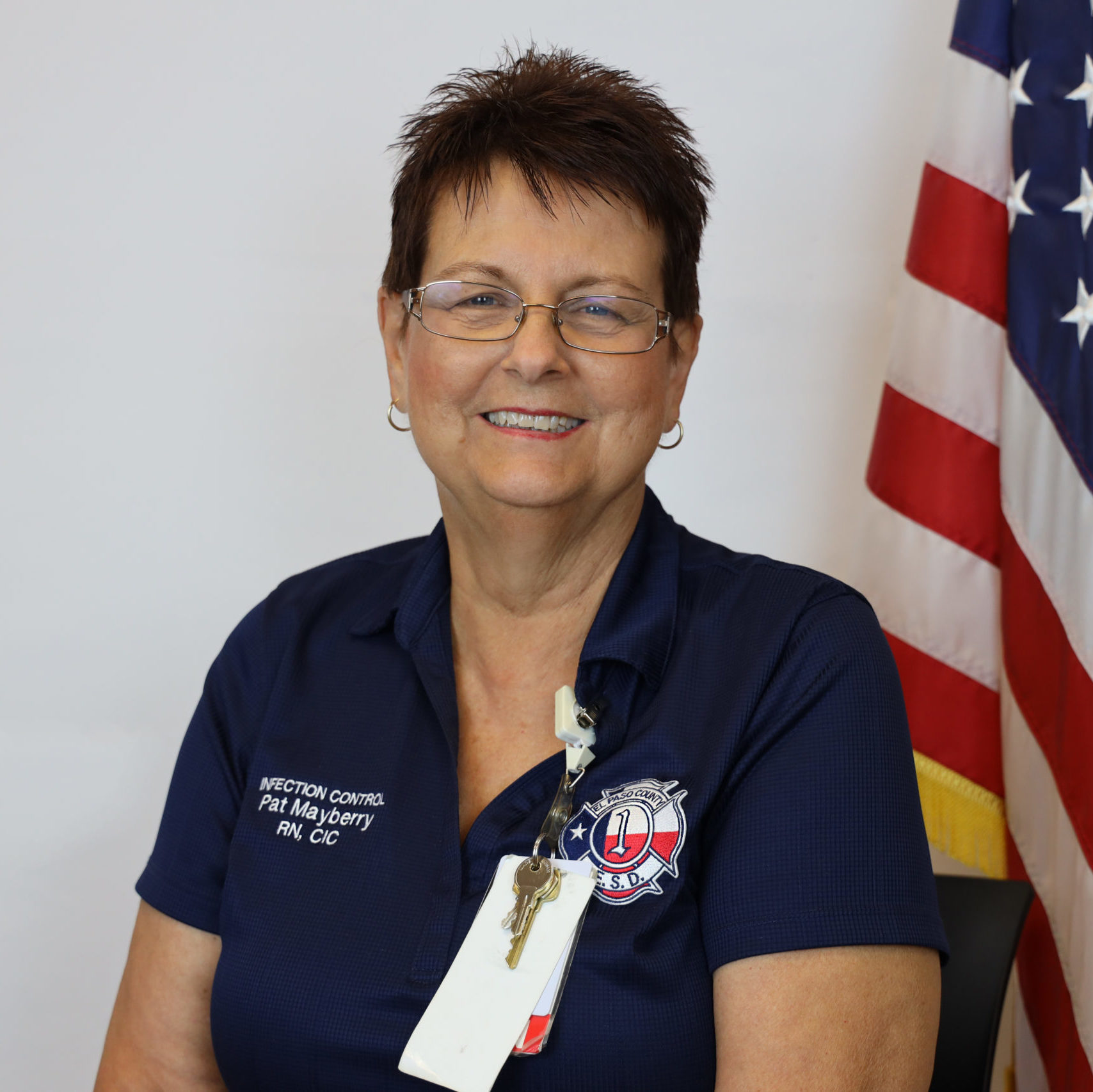 Pat Mayberry, RN, CIC - Infection Control Nurse