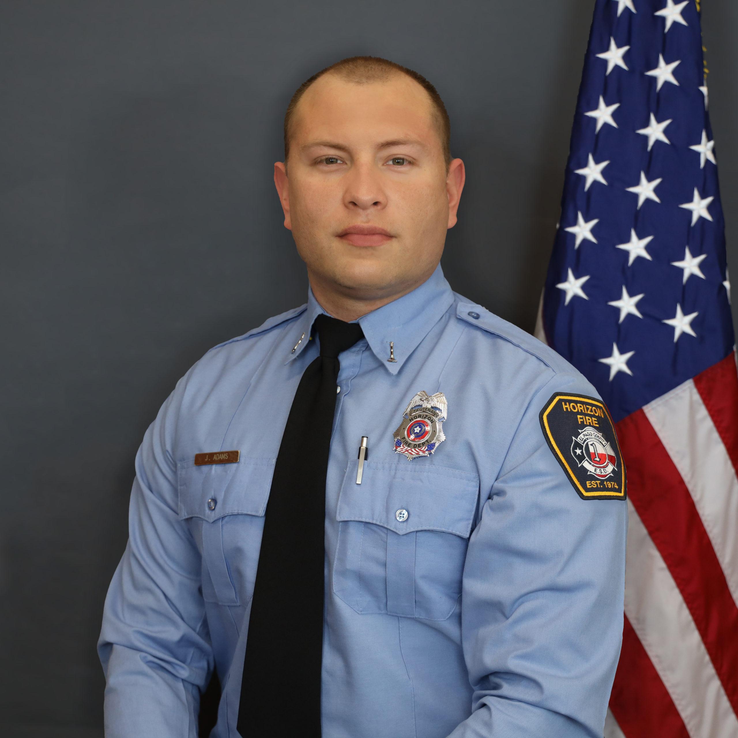 Jordan Adams - Lieutenant